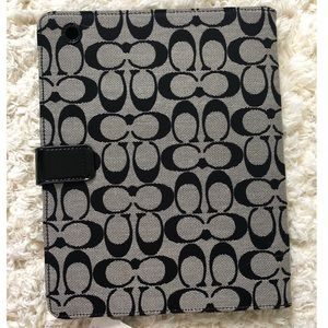Coach Accessories - NEW Coach iPad/Tablet Case (tags attached)